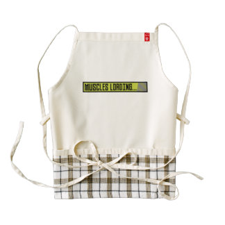 Muscles Loading Progressbar Zqy9t Zazzle HEART Apron