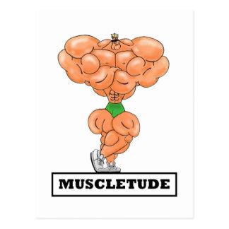 MUSCLETUDE,Postcard