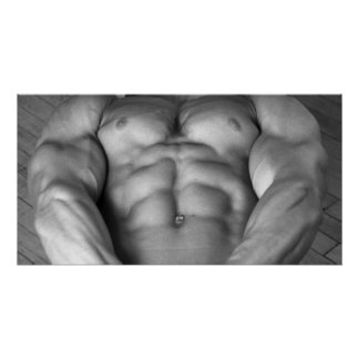 Musclular Chest Poster #2000