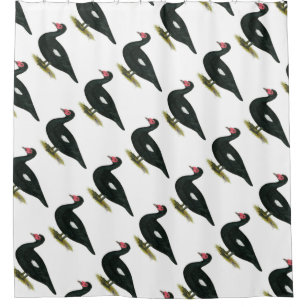 Muscovy Black Drake Shower Curtain