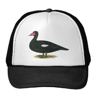 Muscovy Black Drake Trucker Hat