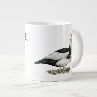 Muscovy Black Pied Drake 20 Oz Large Ceramic Coffee Mug