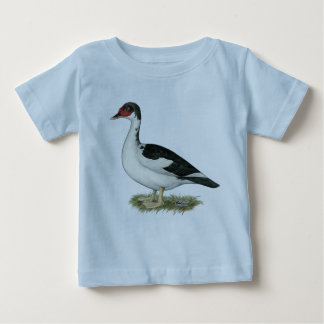 Muscovy Black Pied Duck Infant T-shirt