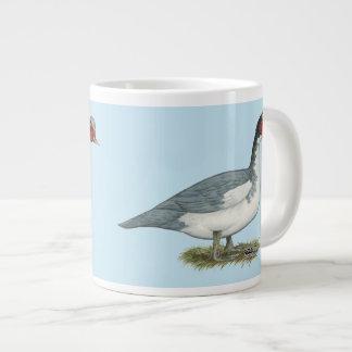 Muscovy Blue Pied Drake 20 Oz Large Ceramic Coffee Mug