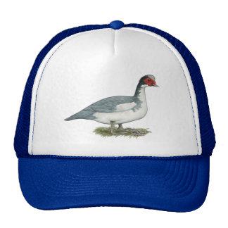 Muscovy Blue Pied Drake Trucker Hat