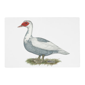 Muscovy Blue Pied Duck Placemat