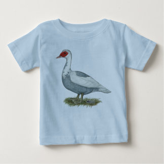 Muscovy Blue Pied Duck T Shirt