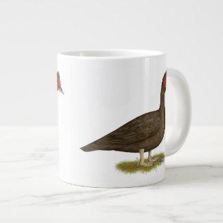 Muscovy Drake Chocolate 20 Oz Large Ceramic Coffee Mug