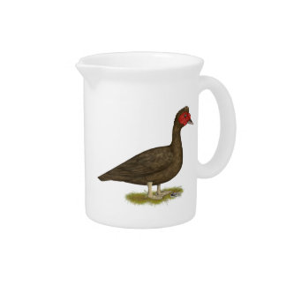 Muscovy Drake Chocolate Drink Pitcher