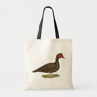 Muscovy Drake Chocolate Tote Bag
