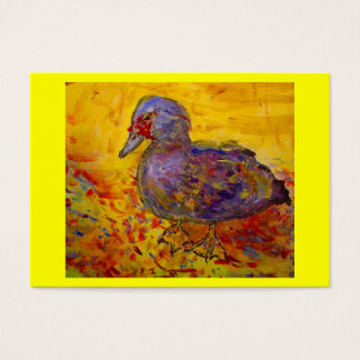 muscovy duck business card