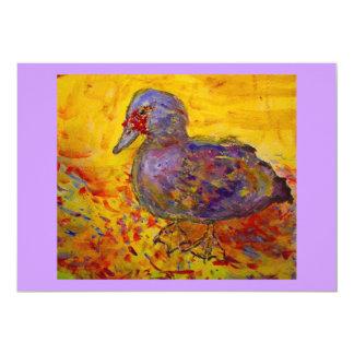 muscovy  duck card