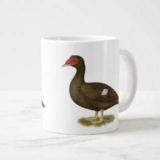Muscovy Duck Chocolate 20 Oz Large Ceramic Coffee Mug