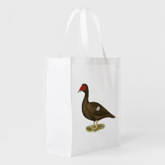 Muscovy Duck Chocolate Market Totes