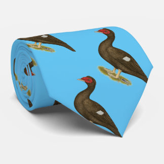Muscovy Duck Chocolate Tie