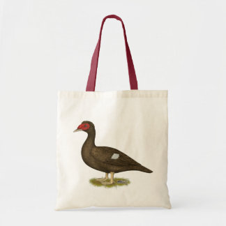 Muscovy Duck Chocolate Tote Bag