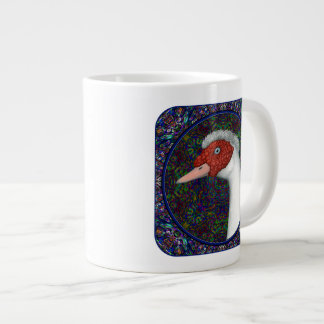 Muscovy Duck Head White 20 Oz Large Ceramic Coffee Mug