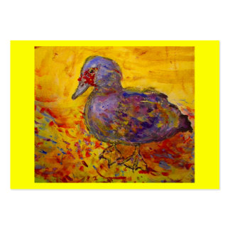 muscovy duck large business card