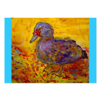 muscovy duck large business cards (Pack of 100)