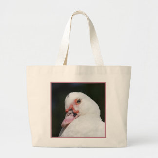 Muscovy Duck Large Tote Bag
