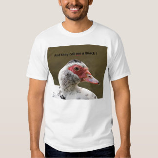 "Muscovy Duck ""Quack"" T-Shirt"