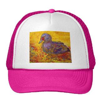 muscovy duck trucker hat