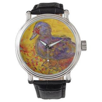 muscovy duck wrist watches