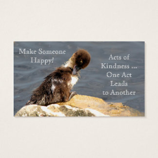 Muscovy Duckling - RAOK Cards (Business Card Size)