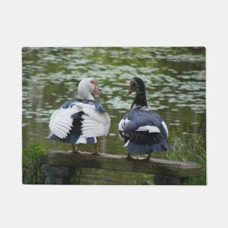 Muscovy Ducks Doormat