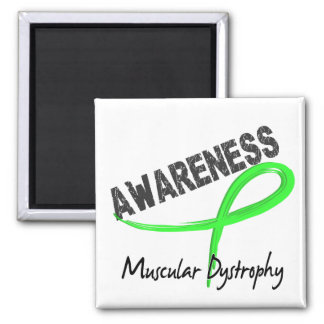 Muscular Dystrophy Awareness 3 2 Inch Square Magnet