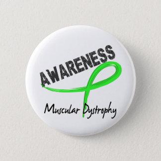 Muscular Dystrophy Awareness 3 Pinback Button