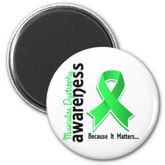 Muscular Dystrophy Awareness 5 2 Inch Round Magnet