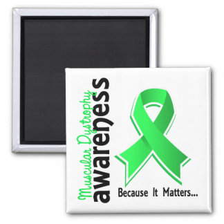 Muscular Dystrophy Awareness 5 2 Inch Square Magnet