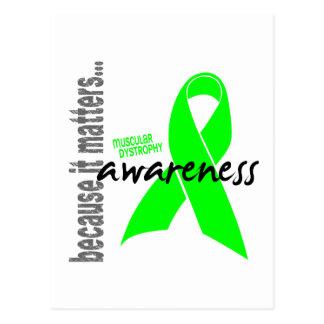 Muscular Dystrophy Awareness Postcard
