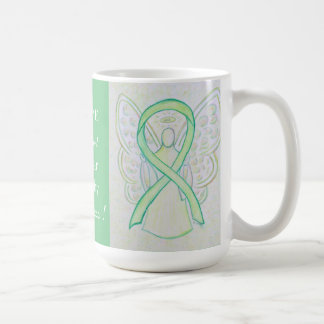 Muscular Dystrophy Awareness Ribbon Angel Mug Basic White Mug