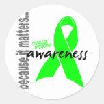 Muscular Dystrophy Awareness Sticker