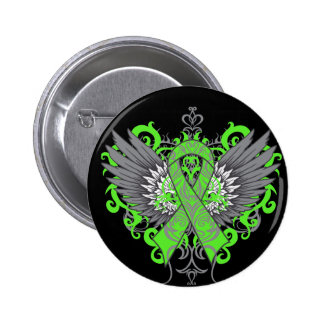 Muscular Dystrophy Awareness Wings Pinback Button