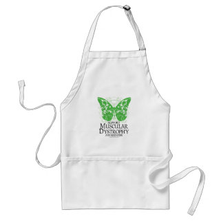 Muscular Dystrophy Butterfly Adult Apron