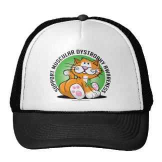 Muscular Dystrophy Cat Trucker Hat