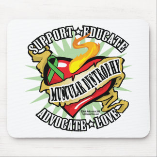 Muscular Dystrophy Classic Heart Mouse Pad