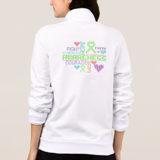 Muscular Dystrophy Colorful Slogans Jacket