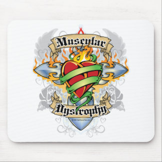 Muscular Dystrophy Cross & Heart Mouse Pad