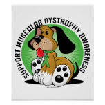 Muscular Dystrophy Dog Poster