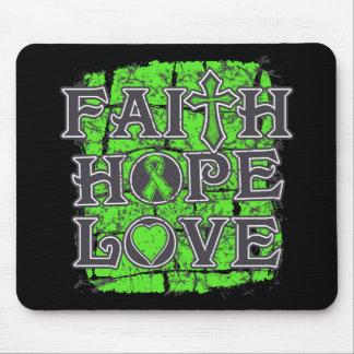 Muscular Dystrophy Faith Hope Love Mouse Pads