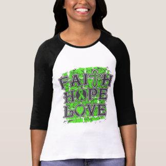 Muscular Dystrophy Faith Hope Love Tee Shirts