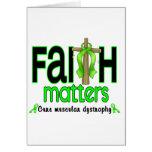 Muscular Dystrophy Faith Matters Cross 1 Cards