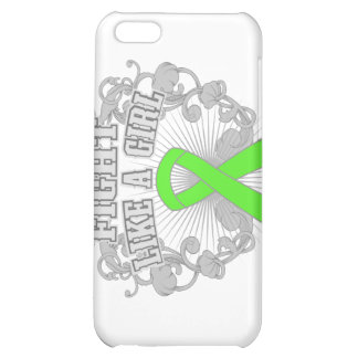 Muscular Dystrophy Fight Like A Girl Fleurish iPhone 5C Case
