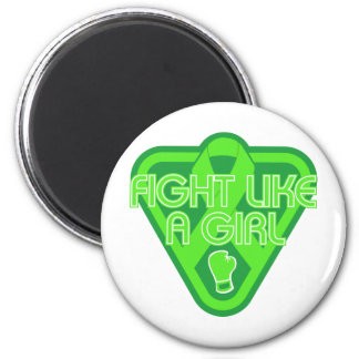 Muscular Dystrophy Fight Like A Girl Glove Magnet