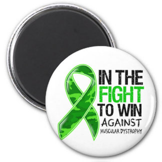 Muscular Dystrophy - Fight To Win 2 Inch Round Magnet
