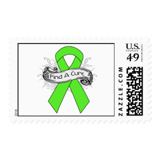 Muscular Dystrophy Find A Cure Ribbon Stamps
